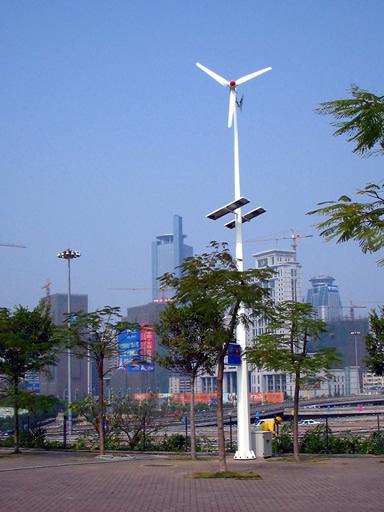风光互补路灯,风光互补电站,风力发电,太阳能发电