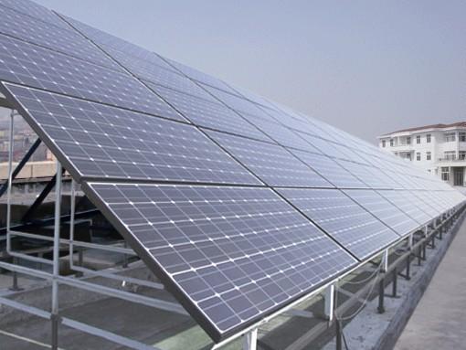 10kw离网太阳能电站,光伏电站